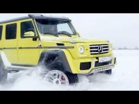Видео тест-драйв Mercedes-Benz G 500 от АвтоВести