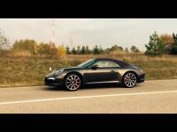 Видео тест-драйв Porsche 911 от