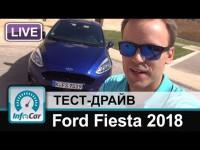 Ford Fiesta 2018 в программе InfoCar.ua
