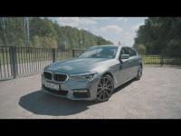BMW 540i видео тест-драйв Антона Воротникова