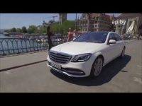 Видео тест драйв Mercedes-Benz S-Class  Автопанорамы
