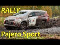Экстримельный тест-драйв Mitsubishi Pajero Sport 2017