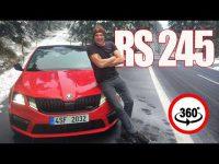 Видео тест-драйв Skoda Octavia RS 245 обзор 360 градусов