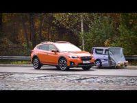 Тест-драйв Subaru XV 2017 на полигоне