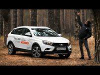 Видео тест-драйв Lada Vesta SW Cross Игоря Бурцева