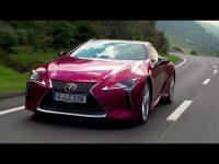 Видео тест-драйв Lexus LC 500