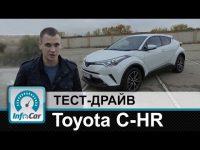Тест-драйв Toyota C-HR InfoCar.ua