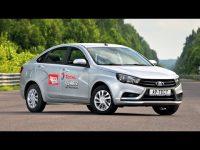 Тест драйв Lada Vesta от  AutoreviewRu
