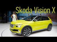 Обзор внедорожника Skoda VISION X в Женеве