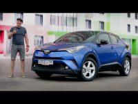 Видео тест-драйв нового кроссовера Toyota C-HR 2018 от Игоря Бурцева