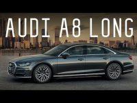 Большой видео тест-драйв нового AUDI A8 2018 года от Стиллавина