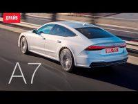 Видео тест-драйв нового Audi A7 от портала Драйв.ру