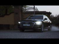 Видео тест драйв нового Audi A8 2018 года от Anton Avtoman