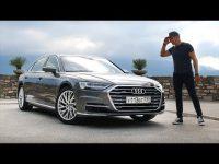 Видео тест-драйв нового седана Audi A8 2018 года от Игорь Бурцев