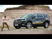 Видео тест-драйва нового Chevrolet Traverse 2018 от Игоря Бурцева