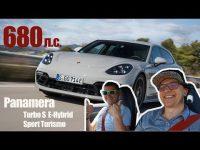 Гибридный Porsche Panamera Turbo S в видео тест-драйве у Игоря Бурцева