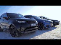 Сравнительный тест драйв Audi Q7 против Volvo XC90 и Land Rover Discovery
