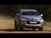 Видео тест драйв Mitsubishi Pajero Sport 2018 года от Авто Плюс