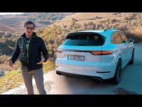Видео тест драйв Porsche Cayenne от Павла Блюденова