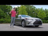 Видео тест-драйв нового Lexus ES 2019 года от Павла Блюденова