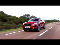 Видео тест драйв премиального Jaguar E-pace от Антона Воротникова