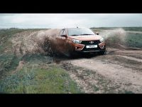 Видео тест-драйв седана Lada Vesta Cross от Авнтона Воротникова