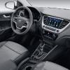 Hyundai Solaris 2017 интерьер