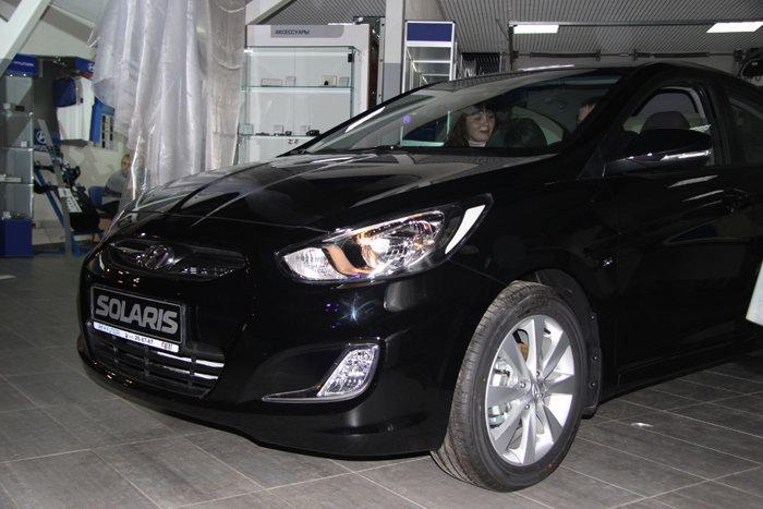 Хендай СОЛЯРИС (Hyundai Solaris) - официальный дилер Корея Моторс, новая...