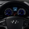 Hyundai Solaris 2014 панель приборов