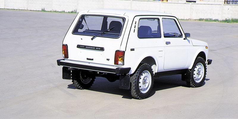 Lada 4×4 нива ваз 2121 и ваз 2131 в