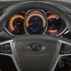 Lada Vesta SW Cross руль и панель приборов