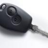 Новый Рено Логан 2014 - ключ с пультом ДУ