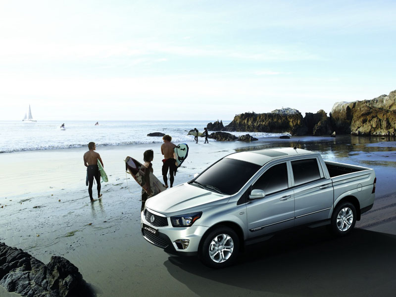 фото SsangYong Actyon Sports 7.