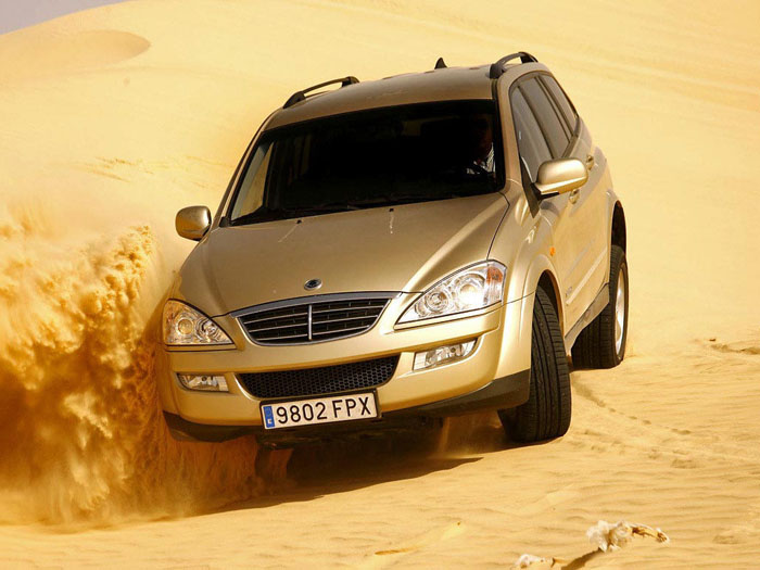 SsangYong Kyron - Обзор - YouTube