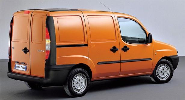 новый фиат добло фургон
