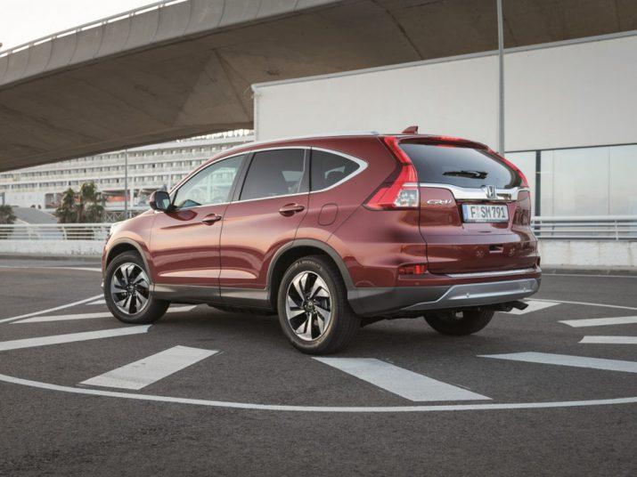 Honda CR-V экстерьер