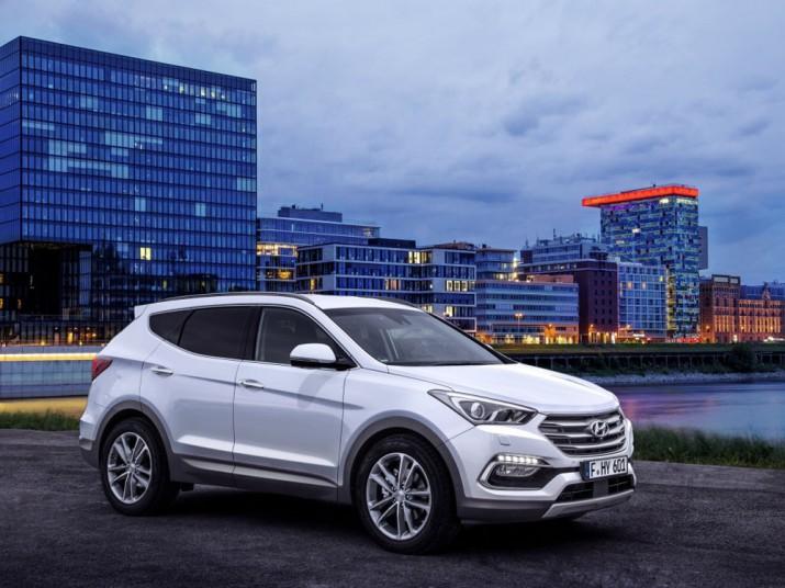 Hyundai Santa Fe экстерьер