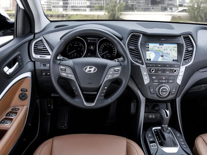 Hyundai Santa Fe интерьер