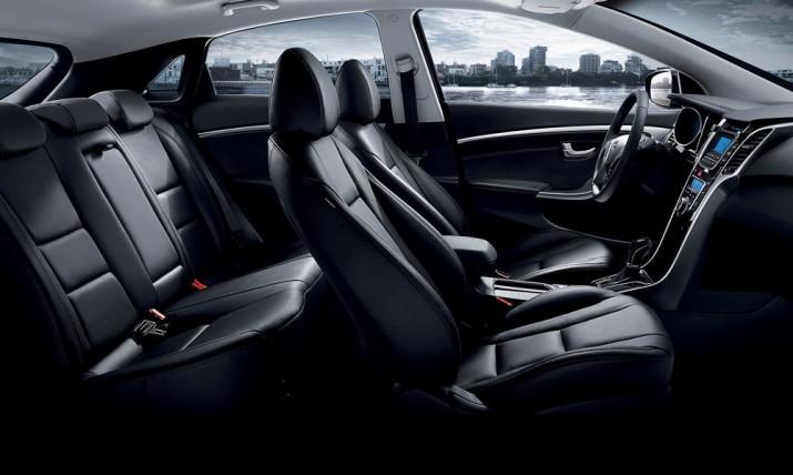 Hyundai i30 интерьер