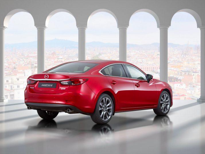 Mazda 6 внешний вид