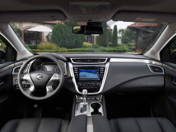 Nissan Murano интерьер