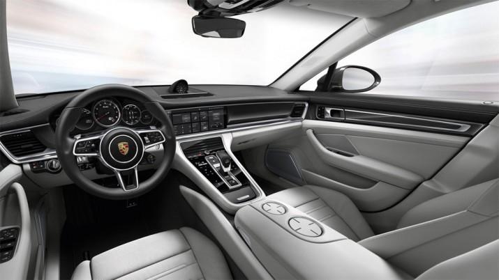 Porsche Panamera интерьер