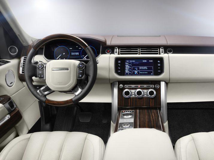 Range Rover интерьер