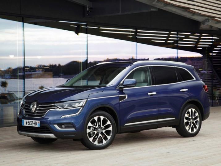 Renault Koleos экстерьер