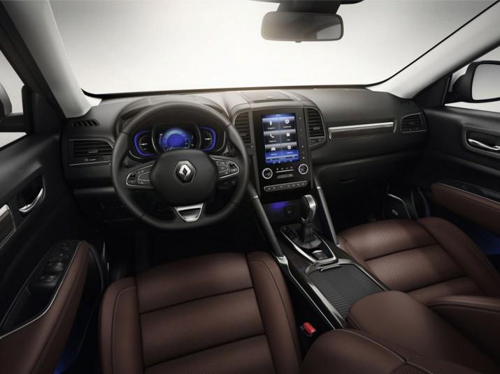 Renault Koleos интерьер