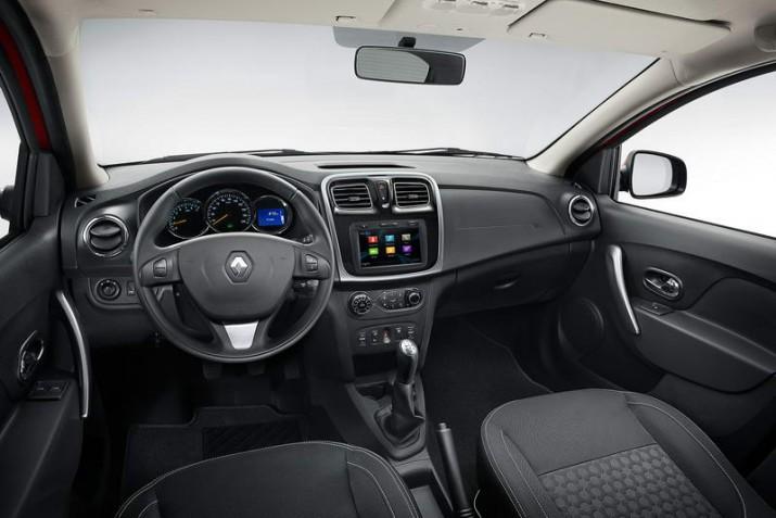 Renault Sandero интерьер