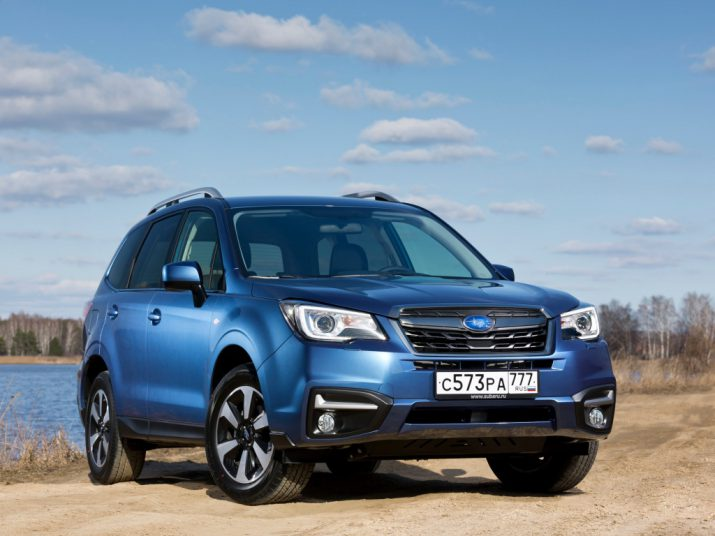Subaru Forester внешний вид