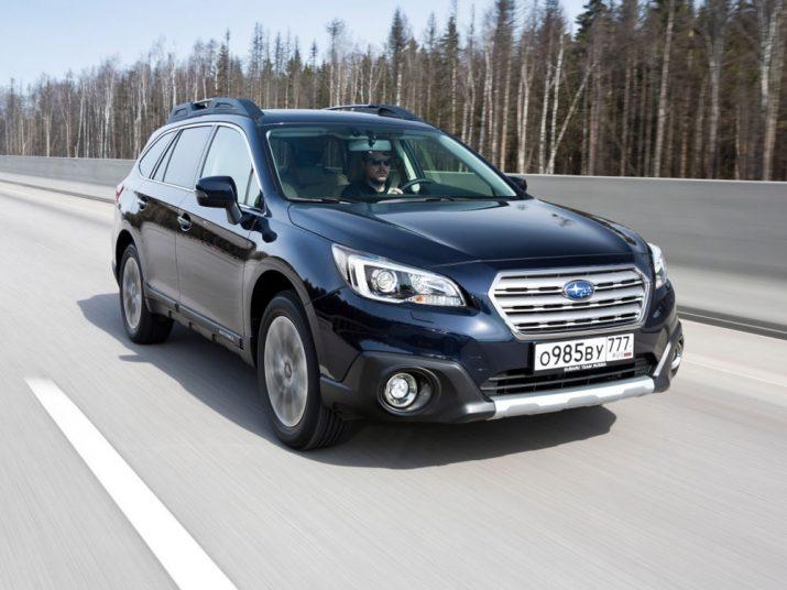 Subaru Outback экстерьер