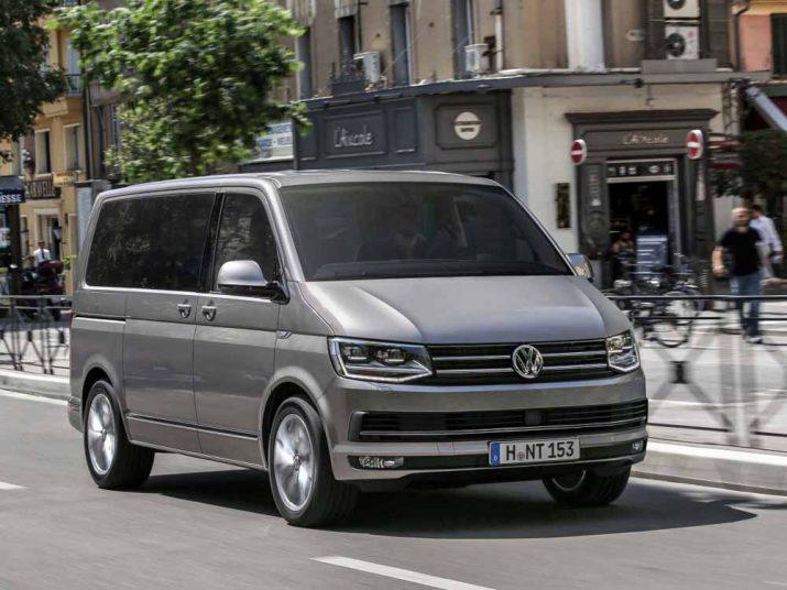 Volkswagen Multivan экстерьер