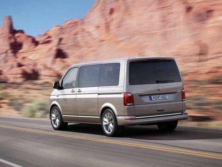 Volkswagen Multivan внешний вид